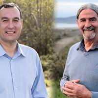 Ryan Sundberg (left) and Steve Madrone