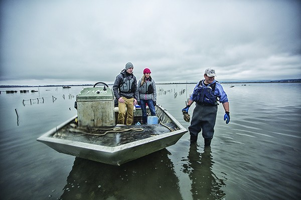 Sebastian Elrite owns Aqua-Rodeo Farms and operates Humboldt Bay Oyster Tours.