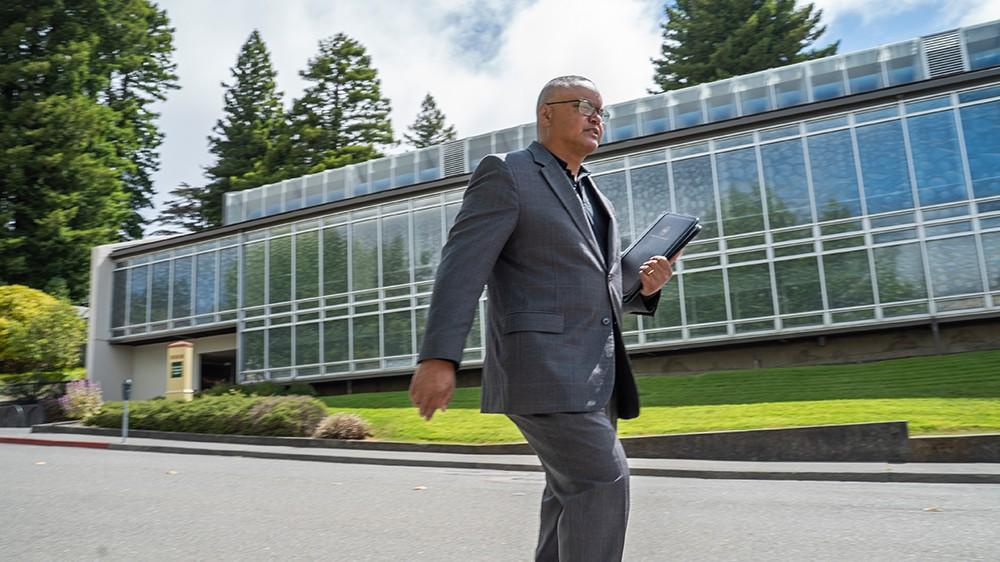 Humboldt State University President Tom Jackson Jr. - COURTESY OF HSU
