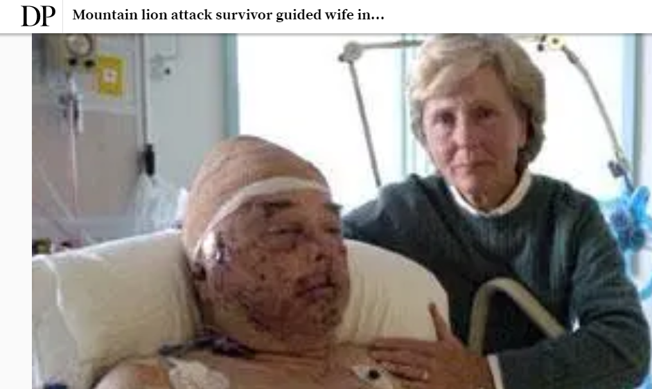 This Times-Standard photo went viral after the attack. - SCREENSHOT OF DENVER POST