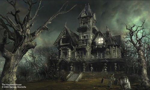 """The Haunted House"" by Italian graphic artist Daniele Montella. - COURTESY OF DANIELE MONTELLA/DAN-KA.COM/COPYRIGHT 2004"