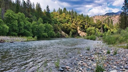 The Trinity River. - BUREAU OF RECLAMATION
