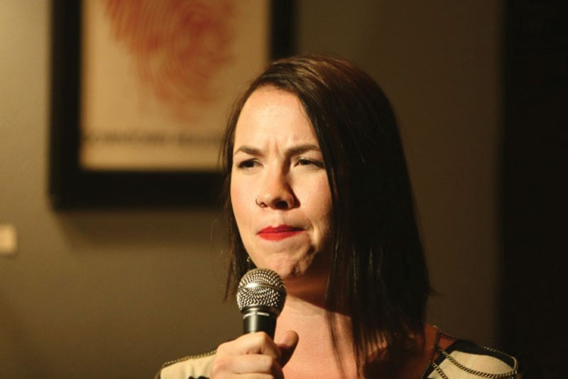 Comic Ash Fisher. - COURTESY OF REDWOOD COMEDY FESTIVAL