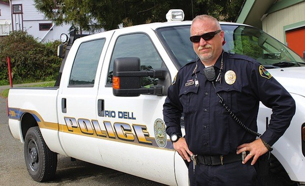 Rio Dell Police Chief Graham Hill. - THADEUS GREENSON