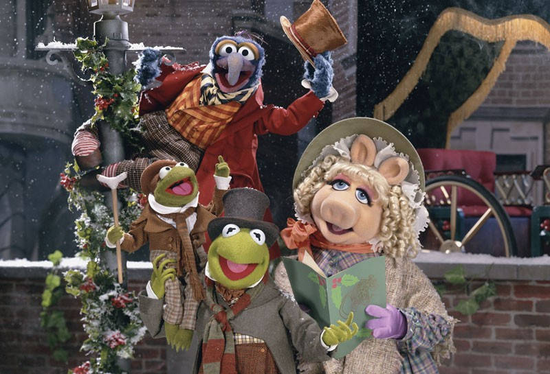 The Muppet Christmas Carol.