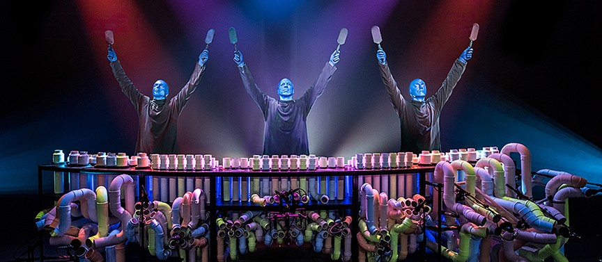 Blue Man Group - COURTESY OF THE ARTISTS