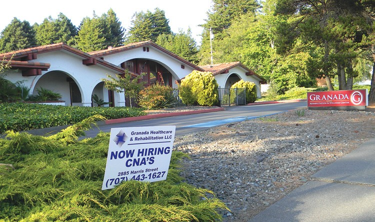 Granada Rehabilitation and Wellness Center, one of the only sites that will remain open. - PHOTO BY CARRIE PEYTON DAHLBERG