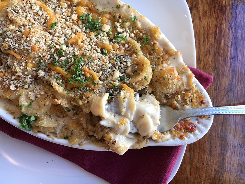 Mac and cheese at Farmhouse on Main. - JENNIFER FUMIKO CAHILL