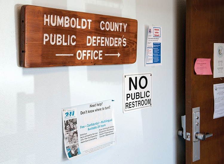 The Humboldt County Public Defender's Office has been mired in conflict since the Feb. 8 hire of David Marcus as its chief. - FILE PHOTO