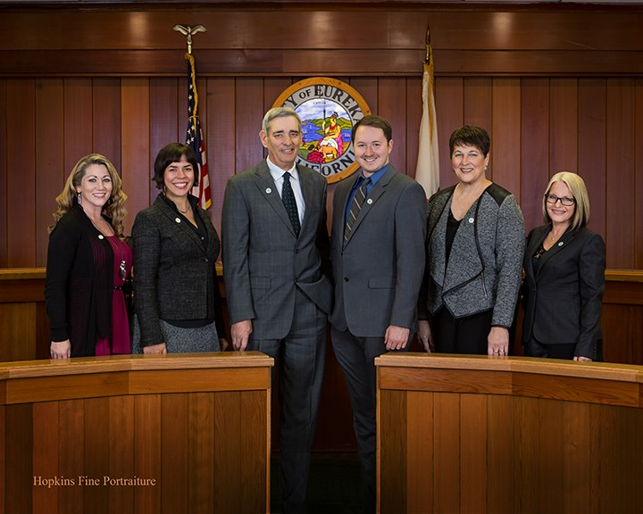 The Eureka City Council. - COURTESY OF THE CITY OF EUREKA