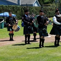 The Humboldt Highlanders Bagpipe Troupe - MATT FILAR