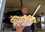 A heap of curly fries. Good luck.