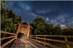 Berta's Ranch Covered Bridge is a couple miles out Elk River Road on Berta Road.