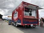 The Fortuna-based Humboldt Fresh truck in its new Eureka spot.