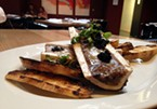 Good bones: marrow and caviar at Five Eleven.