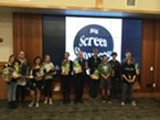 The winners of The Young MediaMakers 2016 Big Screen Showcase.
