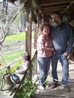 Rex Whitlow, with his wife, Tracy.