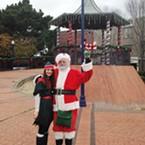 Santa in Old Town