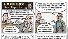 Fred Fox, Ace Reporter