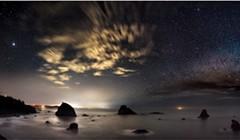 North Coast Night Lights: Perception of Time