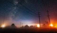 North Coast Night Lights: Tule Fog on Humboldt Bay