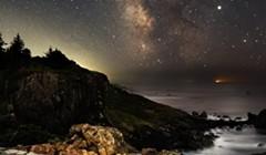 North Coast Night Lights: Ramparts on the Coast