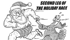 Second leg of the holiday race