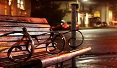 North Coast Night Lights: Vacancy at 4th & E Streets, Eureka