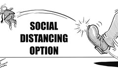 Social Distancing Option