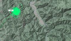 New Wildfire Burning Northwest of Hoopa