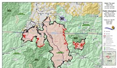 Slater Fire: Pressed Containment Lines Held