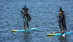 Witches Float: Photos from the Witches Paddle