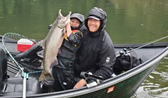 Coastal Rivers Full, Smith Best Bet for Salmon