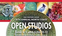 North Coast Open Studios 2016