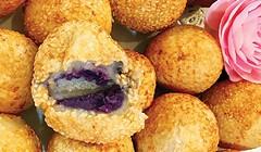 Purple Yam Dim Sum
