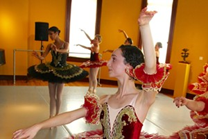 The Redwood Youth Ballet presents The Paquita Grande Pas de Deux