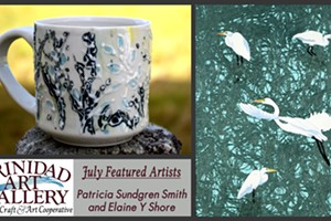 July Featured Artists: Patricia Sundgren Smith and Elaine Y Shore