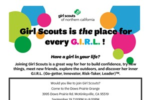 Girl Scouts of Northern California--Unleash the Power of G.I.R.L Today!