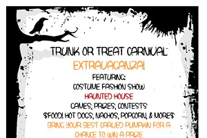 Girl Scout Trunk or Treat Carnival Extravaganza