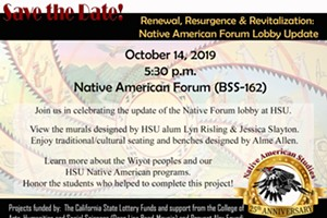 Native American Forum Lobby Update Opening