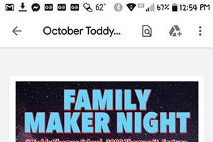 Family Maker Night