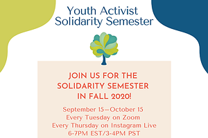 Youth Activist Solidarity Semester