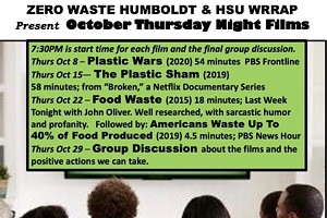 Zero Waste October Thursday Nights Film Series