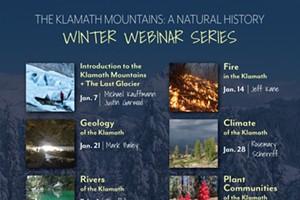 Klamath Mountains Winter Webinar Series