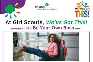 Try Out Girl Scouts: Be Your Own Boss