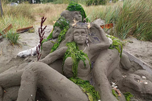 Dispersed Sand Sculpture Festival