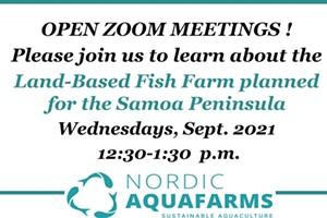 Nordic Aquafarms Open Zoom Meeting