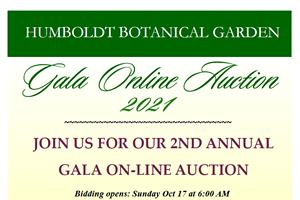 Humbold Botanical Garden Gala Online Auction