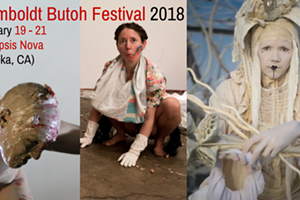 Humboldt Butoh Festival: Workshop with Anastazia Louise of Bad Unkle Sista