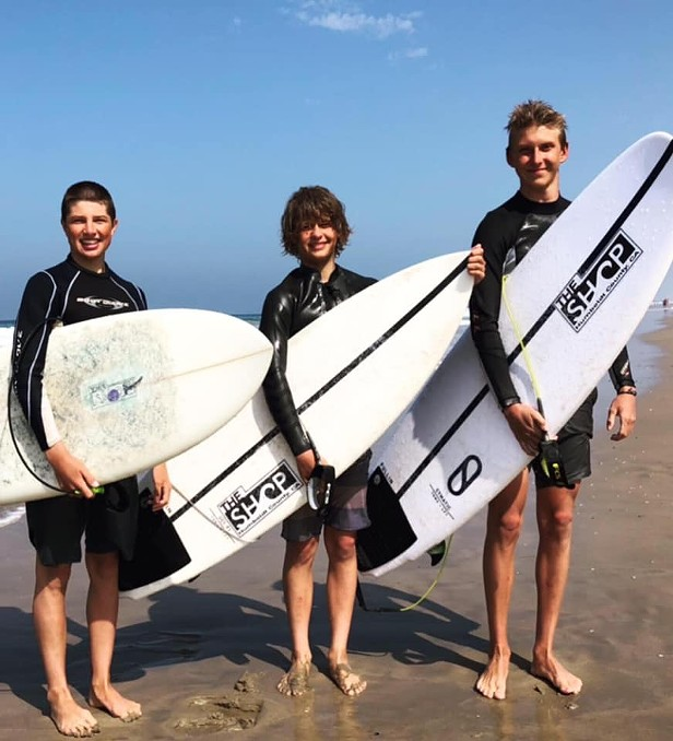 SECOND UPDATE: Teen Surfers Rescue Two Swept Out by Rip in Trinidad